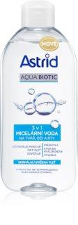 Astrid Aqua Biotic eau micellaire 3 en 1 pour peaux normales à mixtes