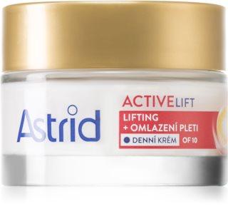 Astrid Active Lift лифтинг подмладяващ дневен крем SPF 10
