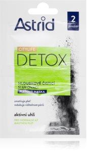 Astrid CITYLIFE Detox почистваща маска