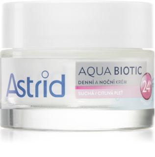 Astrid Aqua Biotic дневен и нощен крем за суха до чувствителна кожа