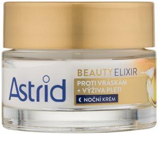 Astrid Beauty Elixir подхранващ нощен крем против бръчки