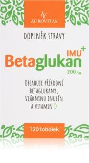Aurovitas Betaglukan IMU 200 mg doplněk stravy pro posílení imunity