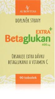Aurovitas Betaglukan Extra+ potravinový doplněk pro podporu normální funkce imunity organismu