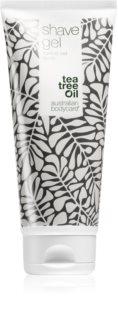 Australian Bodycare shave gel Parranajogeeli Teepuu-uutteen Kanssa