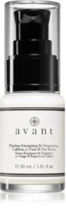 Avant Age Protect & UV Flawless Energising & Oxygenating Caffeine 2-1 Face & Eye Serum ενεργοποιητικός ορός Για  πρόσωπο και τη περιοχή των ματιών