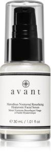 Avant Age Restore Marvellous Nocturnal Resurfacing Hyaluronic Facial Serum éjszakai szérum a vonalak kisimítására