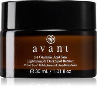 Avant Age Defy+ 2-1 Glutamic Acid Skin Lightening & Dark Spot Reducer élénkítő ápolás a pigment foltok ellen