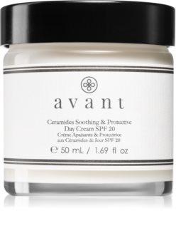 Avant Age Protect & UV Ceramides Soothing & Protective Day Cream SPF 20 crema de zi calmanta SPF 20