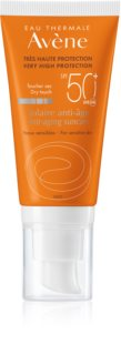 Avène Sun Anti-Age защитен крем за лице с противобръчков ефект  SPF 50+