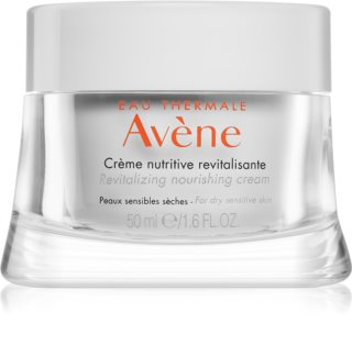 Avène Skin Care Nourishing Revitalizing Cream for Sensitive and Dry Skin