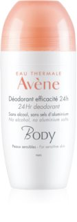 Avène Body Roll-On Deodorant  för känslig hud
