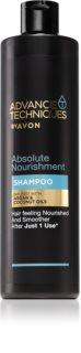 Avon Advance Techniques 360 Nourishment nährendes Shampoo mit marokkanischem Arganöl für alle Haartypen