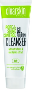 Avon Clearskin Pore & Shine Control gel nettoyant adoucissant
