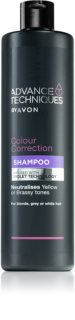 Avon Advance Techniques Colour Correction violettes Shampoo für blondes und meliertes Haar