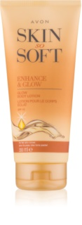 Avon Skin So Soft Self-Tanning Milk SPF 15