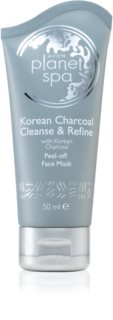 Avon Planet Spa Korean Charcoal Cleanse & Refine Peel-off Face Mask with Activated Carbon