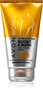 Avon Works lait amincissant anti-cellulite corps