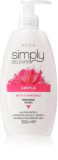 Avon Simply Delicate gel per l'igiene intima con camomilla