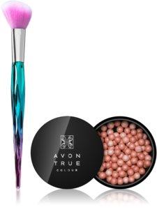 Avon You Add Sparkle To Life perle za toniranje i ujednačavanje izgleda lica s kistom