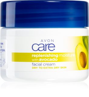 Avon Care Moisturizing Facial Cream With Avocado
