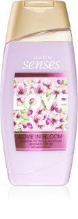 Avon Senses Love in Bloom Duschcreme mit Jasminduft