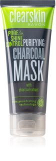 Avon Clearskin  Pore & Shine Control Cleansing Mask with Activated Charcoal