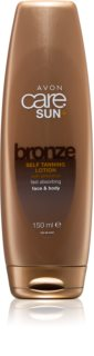Avon Care Sun +  Bronze Self-Tanning Milk for Body and Face