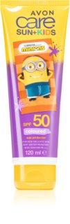 Avon Care Sun + Kids & Baby crème protectrice pour enfant SPF 50