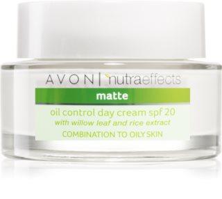 Avon Nutra Effects Matte matirajuća dnevna krema SPF 20