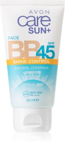 Avon Care Sun +  Face BB BB creme  para unificar a cor do tom de pele