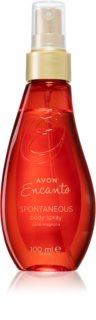 Avon Encanto Spontaneous парфюмиран спрей за тяло