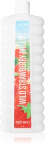 Avon Bubble Bath Wild Strawberry Dreams pena do kúpeľa s vôňou jahôd