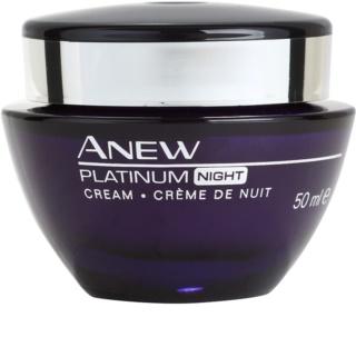 Avon Anew Platinum κρέμα νύχτας για την αντιμετώπιση των βαθιών ρυτίδων