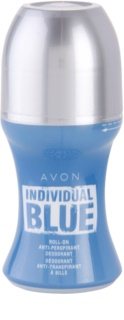 Avon Individual Blue for Him рол-он за мъже