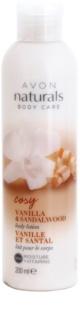 Avon Naturals Body Kroppslotion med vanilj och sandelträ