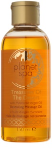 Avon Planet Spa Treasures Of The Desert erneuerndes Massageöl mit marokkanischem Arganöl