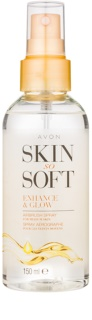 Avon Skin So Soft spray autobronzeador para corpo
