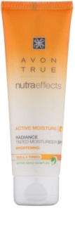 Avon True NutraEffects crema giorno illuminante colorata SPF 20