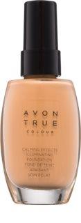 Avon True Colour успокаивающая тональная основа для сияния кожи