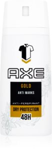 Axe Gold Antiperspirant Spray 48 tim