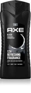 Axe Black gel za prhanje za moške 400 ml