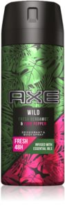 Axe Wild Fresh Bergamot & Pink Pepper déodorant et spray corps