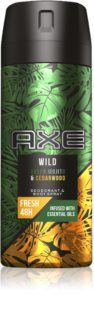 Axe Wild Green Mojito & Cedarwood Deodorant and Bodyspray