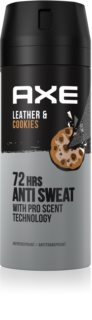 Axe Collision Leather + Cookies antiperspirant v spreji