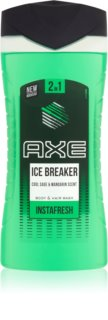 Axe Ice Breaker 2 in 1 gel de dus si sampon