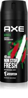 Axe Africa déodorant en spray
