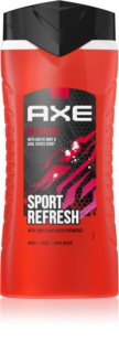 Axe Recharge Arctic Mint & Cool Spices Uppfriskande dusch-gel 3-i-1