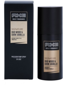 Axe Signature Oud Wood and Dark Vanilla spray corporel pour homme