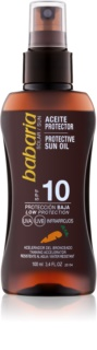 Babaria Sun Protective масло для загара SPF 10