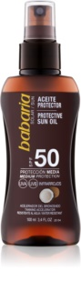 Babaria Sun Protective масло-спрей для загара SPF 50